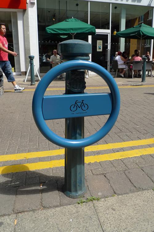 cyclehoop for bollards