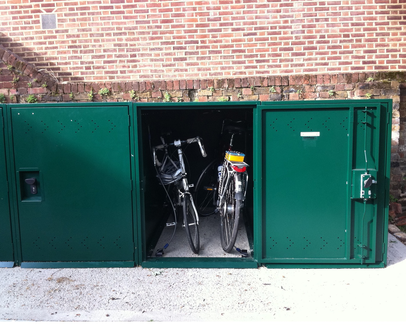 Double Bike Locker