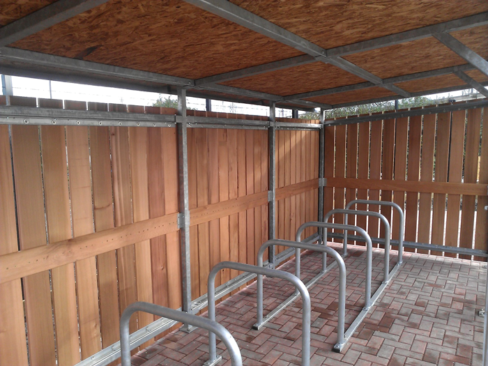 Green Roof Cycle Shelter Cyclehoop