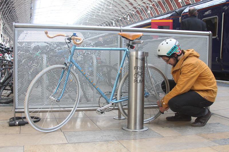 Public Bike Pump