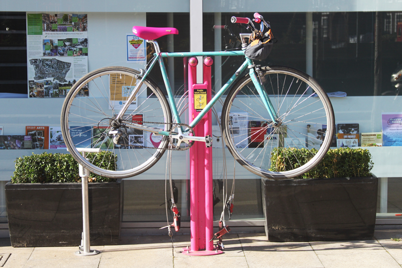 Public Bicycle Repair Stand