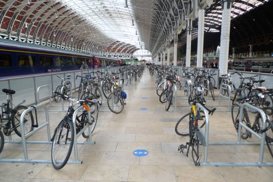 Toast Racks at Paddington Station