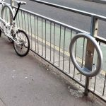 Cyclehoop for railings