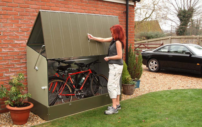 Garden Bike Locker