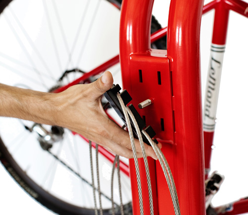 Public Bike Repair Stand