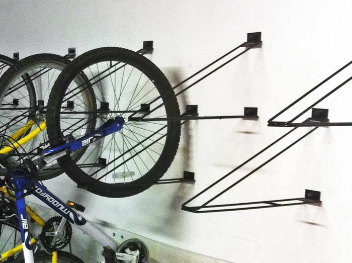Vertical Bike Rack, Home Bike Storage,