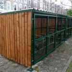 Wooden Bike Shelter