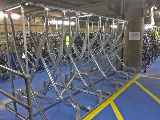 X-type bike racks