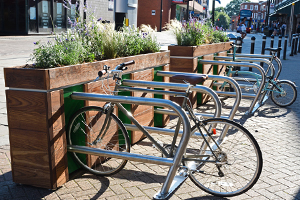 Green Cycle Parking