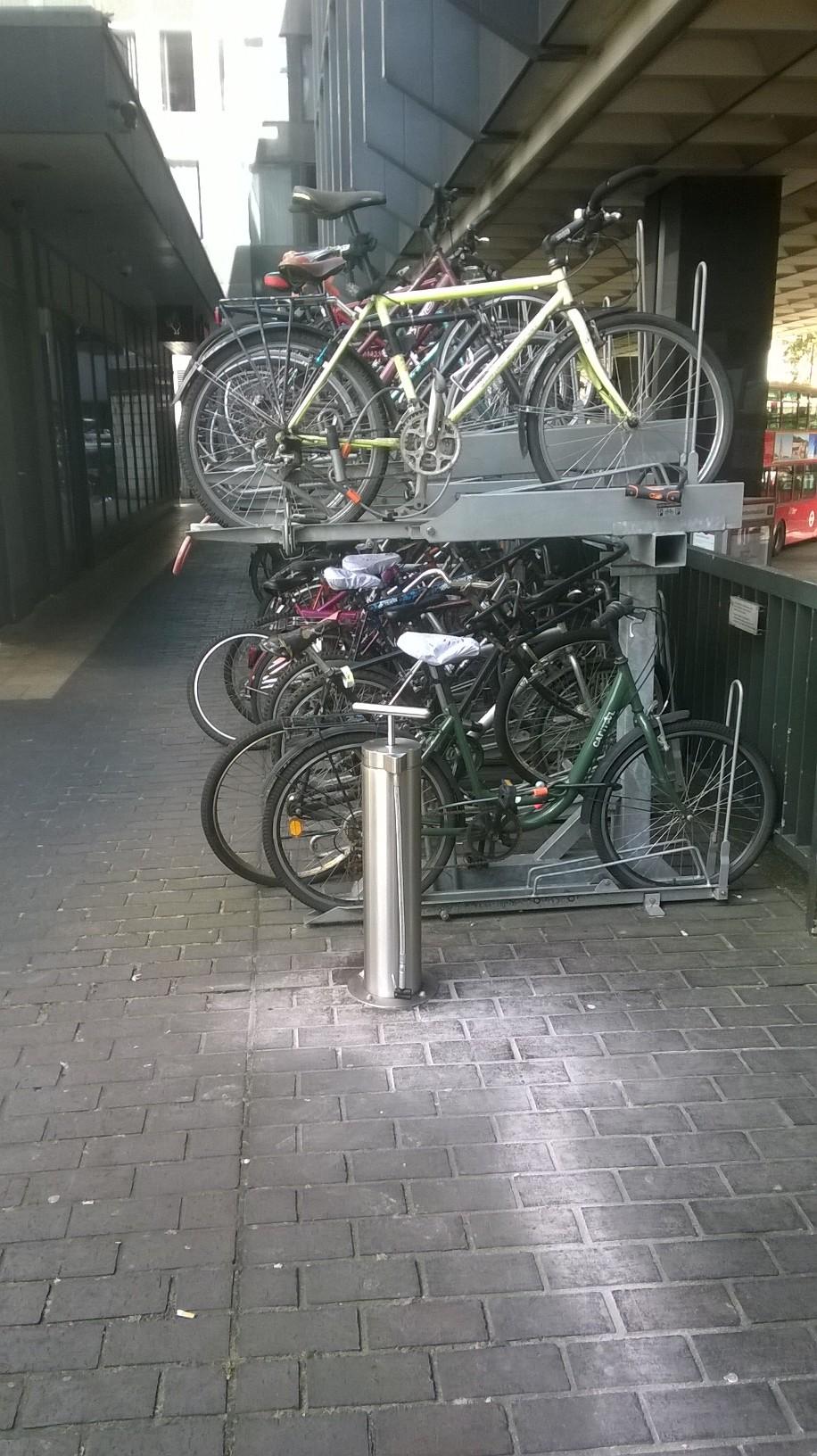 cyclehoop, cycle parking
