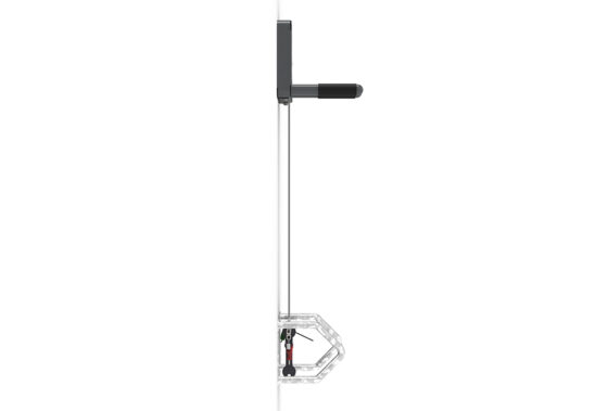 Wall Mount Workstand from side view