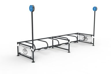 A standard Mobility Corral